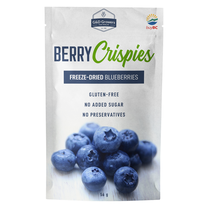 Freeze-Dried Blueberries - Personal Size (56g)