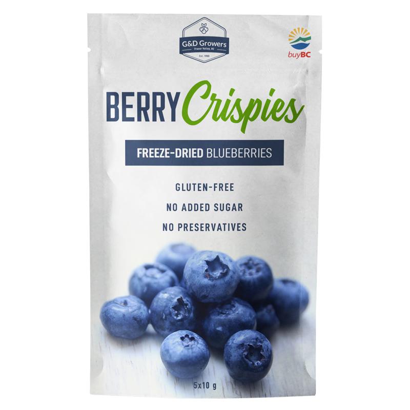 Freeze-Dried Blueberries - Snack Size (5x10g)